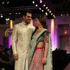 Esha Deol walks the ramp for Azva show at Bridal Fashion Week