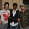 Rahul Vaidya, Wajid Ali and Sajid Ali at  Music Launch Film Ishkq in Paris