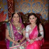 Neelu Vaghela and Kanica Maheshwari celebrate during the Ganesh Chaturthi festival