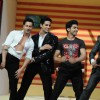 Siddharth Malhotra, Varun Dhawan, Gurmeet Chowdhary & Manish Paul on the sets of Jhalak Dikhhla Jaa