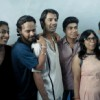 Barun Sobti with cast and crew of Main Aur Mr. Riight.