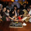 Cake Cutting at 200 episodes completion of show Afsar Bitiya