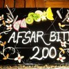 200 episodes completion of show Afsar Bitiya
