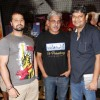 Mudasir Ali, Shriram Raghavan and Sanjay Routray at the launch of their latest movie Kismat Love Paisa Dilli (KLPD) in Mumbai.