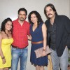 Bollywood actors Sanjay Suri, Chandrachur Singh, Chitrashi Rawat, Shreya Narayan at film Prem Mayee press meet at Hotel Four Seasons in Juhu, Mumbai.