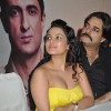 Bollywood actors Chandrachur Singh and Chitrashi Rawat during the film Prem Mayee press meet at Hotel Four Seasons in Juhu, Mumbai.