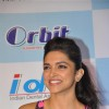 Bollywood actress and Wrigley Orbit brand ambassador Deepika Padukone launches National Oral Health Program and Orbit-IDA National Oral Health Card at the World Dental Show in Bandra Kurla Complex in Mumbai.