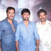 Bollywood actor Ajay Devgan and South actor Nani at film Makkhi press conference at PVR Cinemas in Juhu, Mumbai.