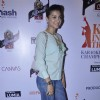 Actress Gauhar Khan at the Grande Finale at Karoke World Championship in Mumbai.