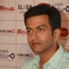 Malayalam film actor Prithviraj at a press meet to promote their film ''Aiyyaa, in New Delhi. (Photo: IANS/Amlan)