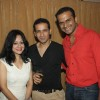 Madhuri Pande, Harmeet Gulzar and Siddharth Kannan at model Liza Malik's birthday get-together