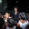 Akshay sethi mobbed by children at Musical Concert organized by actor Gautam Chaturvedi