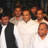 Akhilesh Yadav, Anil Ambani and Mulayam Singh Yadav at Amitabh Bachchan's 70th Birthday Party
