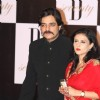 Chandrachur Singh with wife at Amitabh Bachchan's 70th Birthday Party