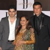 Aditya Pancholi with wife Zarina Wahab & son Suraj Pancholi at Amitabh Bachchan 70th Birthday Party