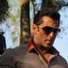 Bollywood actor Salman Khan at the launch of India's first ever reality TV tour in Mumbai.