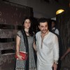 Sanjay Kapoor with wife Maheep Sandhu at Saif Ali Khan and Kareena Kapoor Sangeet Ceremony