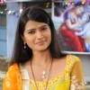 Kratika Sengar on the sets of Punar Vivah