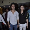 Bollywood stars during the promotion of the movie Student of the Year at PVR and Cinemax in Mumbai.