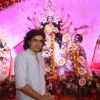 Imtiaz Ali at North Bombay Sarbojanin Durga Puja 2012 in Juhu, Mumbai.