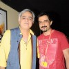 Hansal Mehta and Sanjay Suri spotted at 14th Mumbai Film Festival in Mumbai.