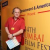 Director Julian Polsler at 14th Mumbai Film Festival in Mumbai.