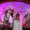 Kajol at North Bombay Sarbojanin Durga Puja Pandal at Hotel Tulip Star in Juhu, Mumbai on Saturday, Oct 20 2012.