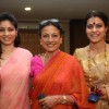 Tanuja with daughters Tanuja and Kajol visit North Bombay's Sarbojanin Durga Puja - Day 2