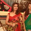 Lara Dutta unveils collection'' Lara Dutta -Chhabra 555'' at Bridal Asia 2012