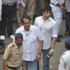 Kiran Kumar attend pays last respect during the funeral of legendary filmmaker Yash Chopra