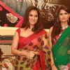Lara Dutta unveils collection'' Lara Dutta -Chhabra 555'' at Bridal Asia 2012,in New Delhi (Photo: IANS/Amlan)