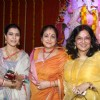 Kajol, Tina Ambani & Moushumi Chatterjee attended Maha Ashtami at North Bombay Sarbojanin Durga Puja