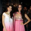 Sagarika Ghatge & Neha Dhupia at bollywood came to Navratri utsav to promote their film in Mumbai.