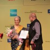Waheeda Rehman with Shyam Benegal at 14th Mumbai Film Festival Closing Ceremony at NCPA