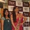Soha Ali Khan with Mahima Bansal (proprietor of HUE) at the launch of HUE fashion's new collection at Inox in Nariman Point, Mumbai on Friday, October 26 2012.