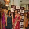 Soha Ali Khan with Mahima Bansal (proprietor of HUE) at the launch of HUE fashion�s new collection at Inox in Nariman Point, Mumbai