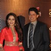 Madhuri Dixit with husband Dr. Sriram Nene at Peoples Choice Awards 2012