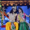 Viren and Jeevika playing Radha and Krishna at the legend of Diwali with Star Parivaar