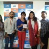 Parul promoting her movie with MYOHO team