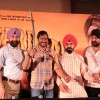 Bollywood actor Ajay Devgan with Congress leader Charan Singh Sapra and other members of Punjabi Cultural Heritage Board (PCHB) at Son Of Sardaar press meet to resolve issues with Sikh Community leaders at Hotel Novotel in Juhu, Mumbai.