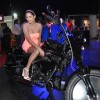 Poonam Pandey at Stuff Gadjet show to promote Flippertech