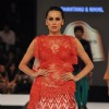 Sania Mirza walks the ramp at Blenders Pride Fashion Tour 2012