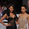 Esha Gupta walks the ramp at Blenders Pride Fashion Tour 2012