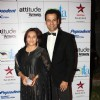 Rohit Roy with wife Manasi at ITA Awards 2012