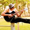 Karanvir Bohra playing Guitar