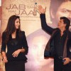 Shahrukh Khan and Katrina Kaif at a press conference for the film Jab Tak Hai Jaan