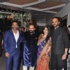 Sunil Shetty, Navin Shetty, Mahek Shetty and Rohit Shetty at Mahek Shetty's Wedding Reception