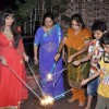 Rakhi Sawant celeberates Diwali with family in Andheri