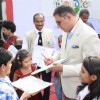 Boman Irani  at the announcement of winner of the Doodle4Google contest 'Unity in Diversity'