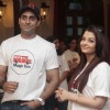 Abhishek Bachchan with wife Aishwarya Rai Bachchan at Magic Bus Children's Day celebrations at the M